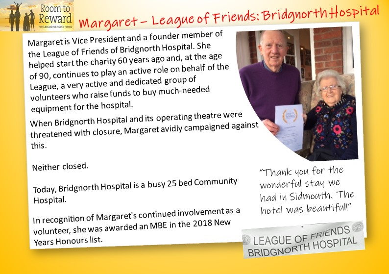 margaret-league-of-friends-bridgnorth-hospital-sidmouth-harbour-hotel