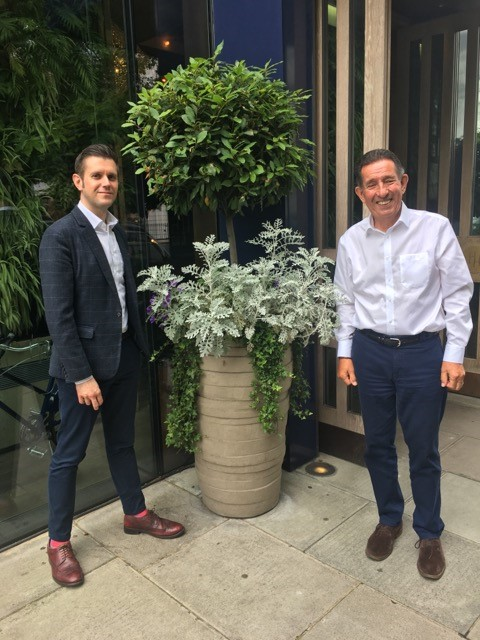 Institute of Hospitality CEO Robert Richardson and Adam Terpening Room to Reward